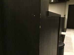 福岡市博多区中洲のクラブで壁傷補修【傷補修補プロ!エコアール】