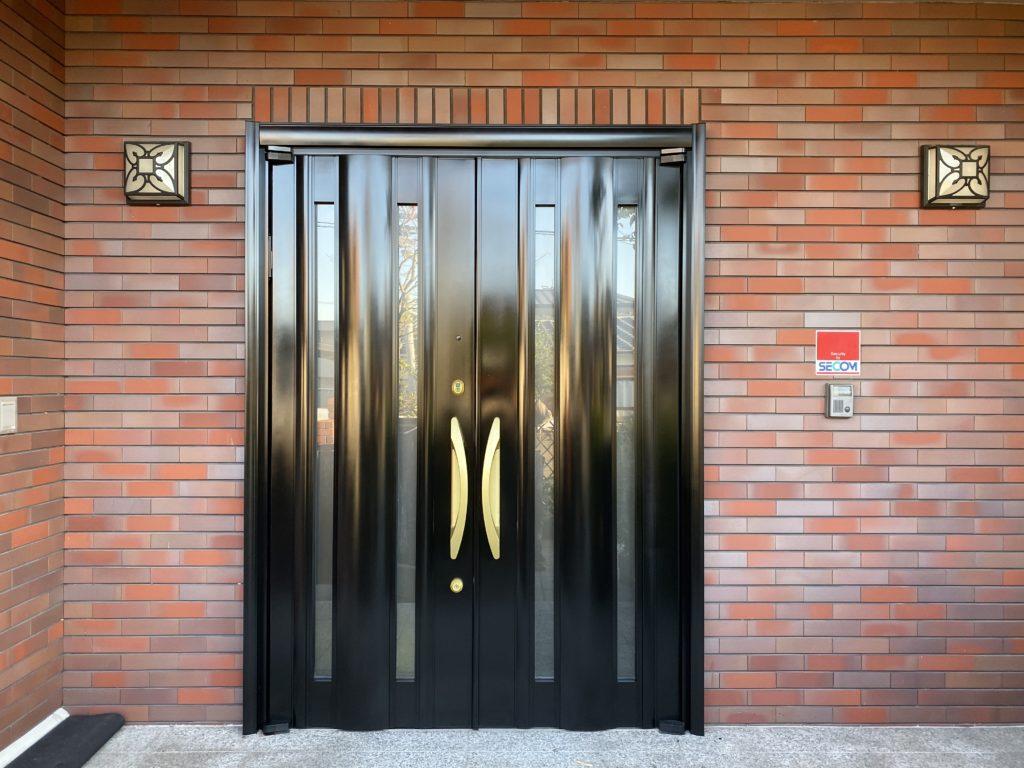 アルミ玄関ドア塗装【AFTER】