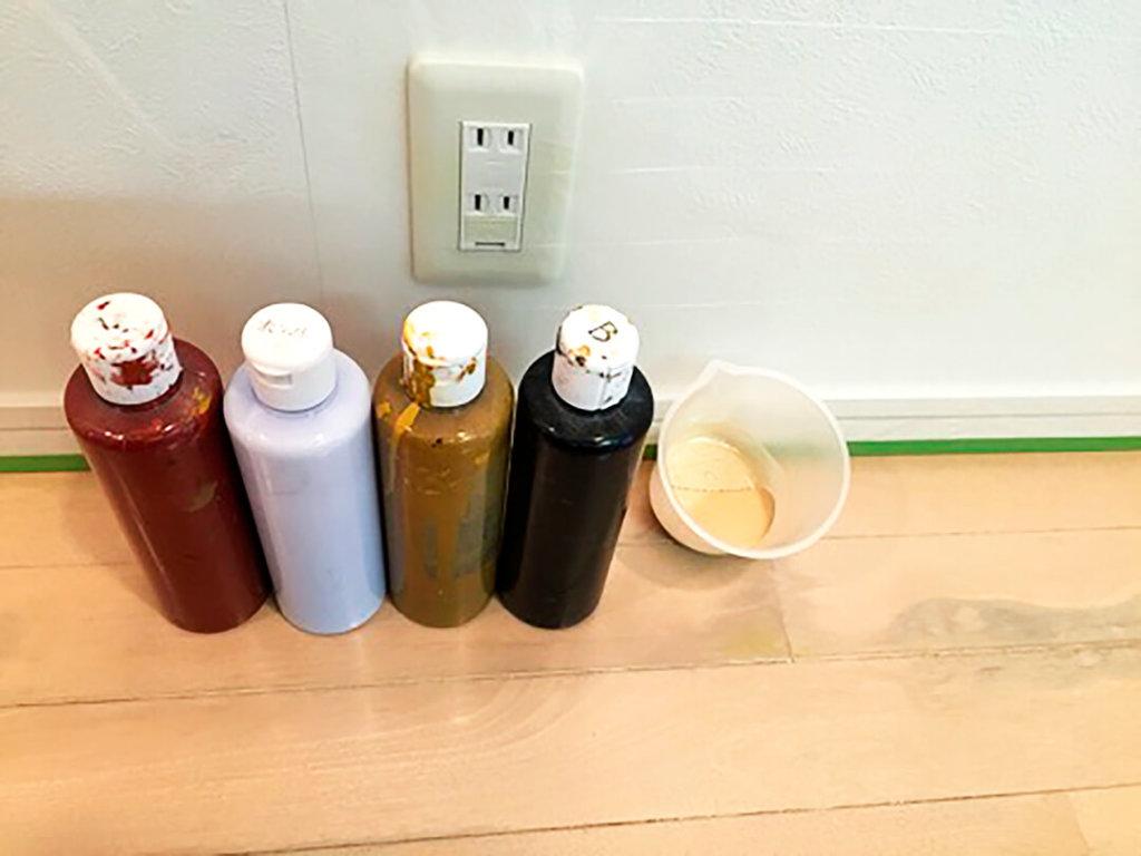使用した塗料