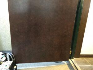 【AFTER2】マンション玄関ドアひっかき傷