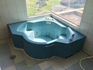 浴槽再塗装前