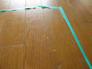 【BEFORE】線状の凹み傷多数2